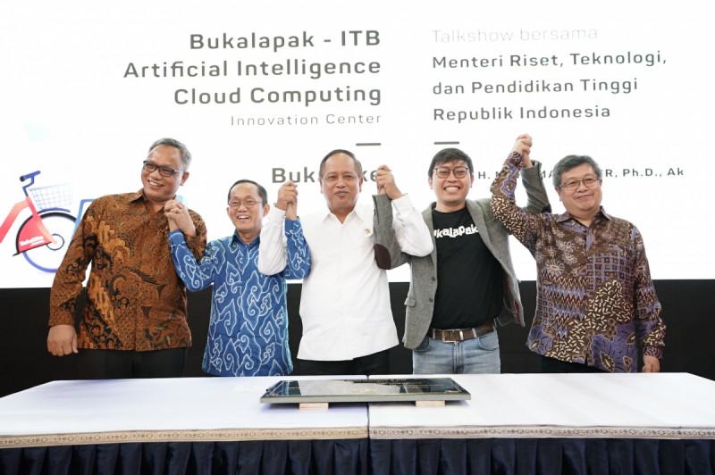 Bukalapak Luncurkan Artificial Intelligence & Cloud Computing Innovation Center di ITB, Jumat (1/2/2019) (doc: Bukalapak)