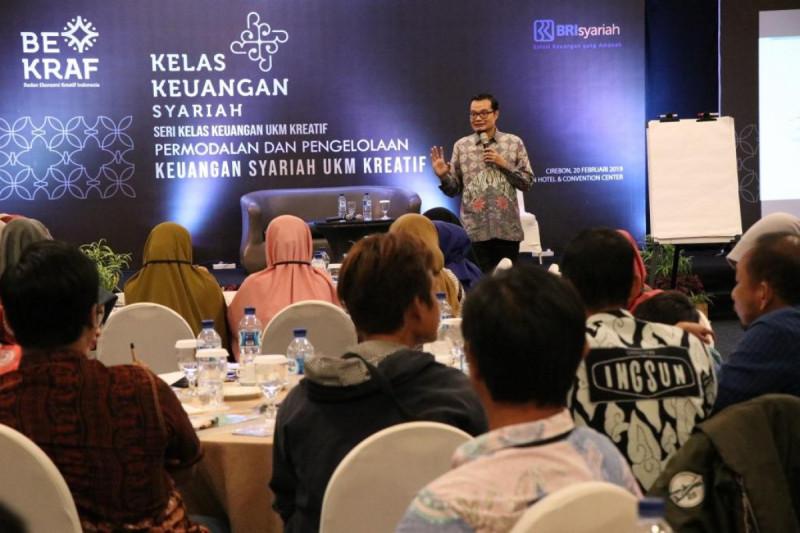 Seri Kelas Keuangan Usaha Kecil dan Menengah (UKM) Kreatif Syariah di Hotel Aston Cirebon, Rabu (20/2/2019). Foto: Bekraf.