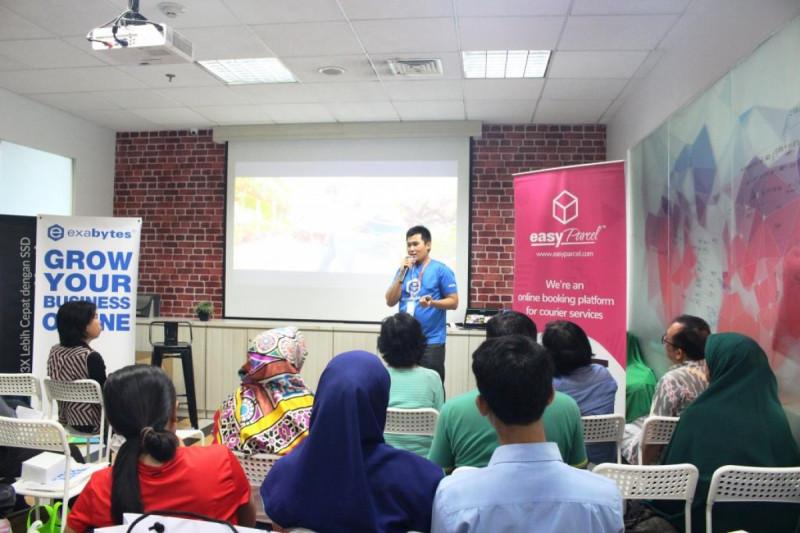 Indra Hartawan, Country Manager Exabytes Indonesia acara Exabytes Digital Day, di Jakarta, Sabtu (23/2/2019). Foto: (doc/MNEWS).