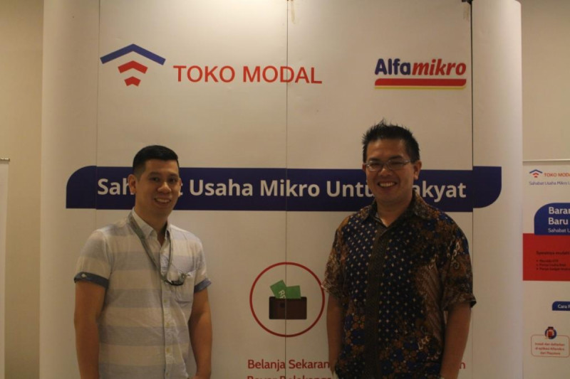 Co-Founder Fintech TOKOMODAL, Chris Antonius dan Direktur Head of Product, Herald Putra. Foto: (doc/MNEWS).
