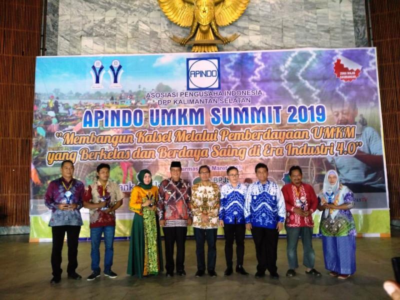 Acara seminar Asosiasi Pengusaha Indonesia (APINDO) di Banjarmasin, Minggu (10/3/2019). Foto: Kemenkop.