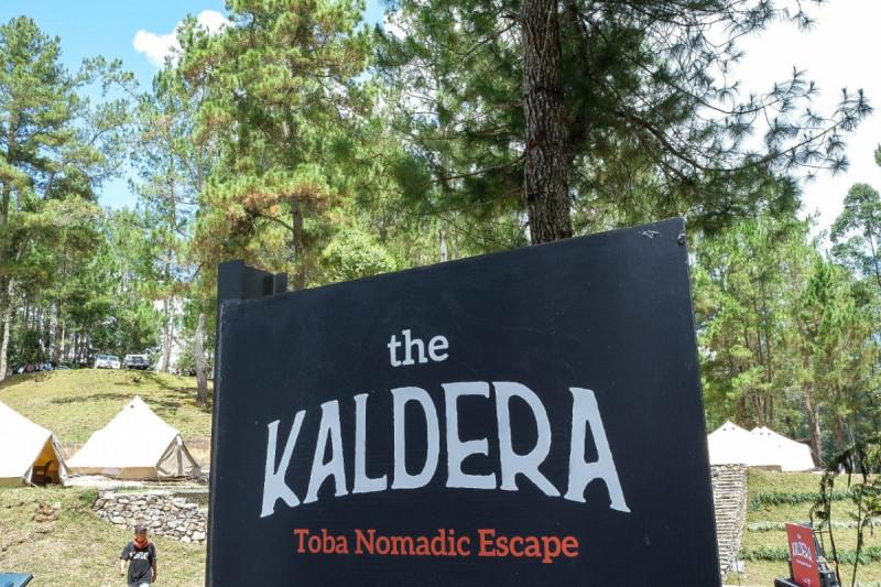 The Kaldera Toba Nomadic Escape, Danau Toba, Sumatera Utara. Foto: Kemenpar RI