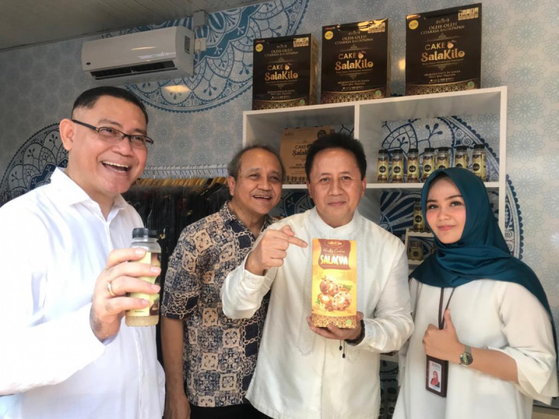 Halal Park yang diselenggarakan oleh Rumah Kreatif BUMN di Gelora Bung Karno (GBK), Jakarta (16/4/2019). Foto: BNI.