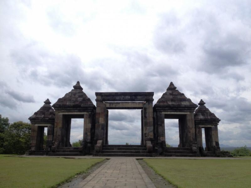 Keraton Ratu Boko. Foto: (doc/MNEWS).