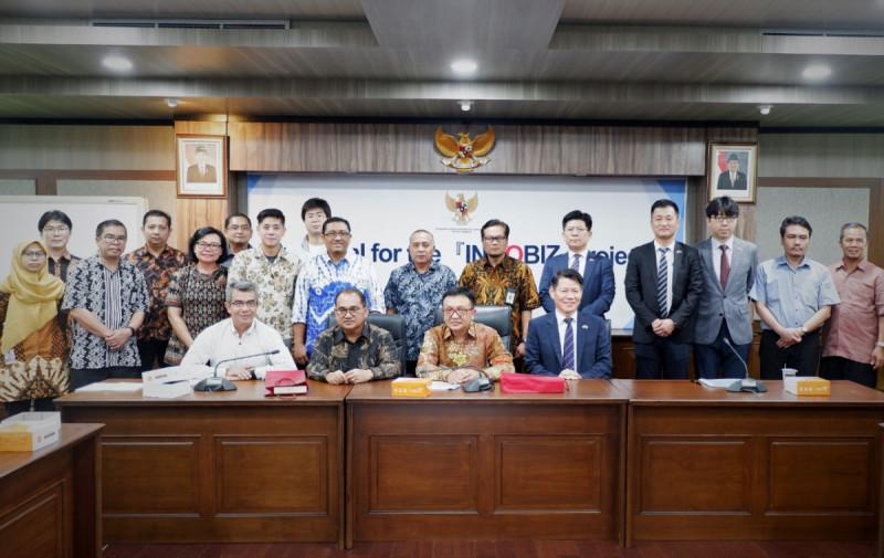 Pertemuan Proposal for The Innobiz Project, di Jakarta, Rabu (24/4/2019). Foto: Kemenkop.