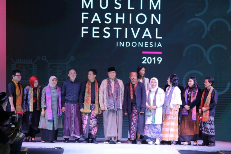 Pembukaan Muslim Fashion Festival 2019, Jakarta, Rabu (1/5/2019). Foto: Kemenperin