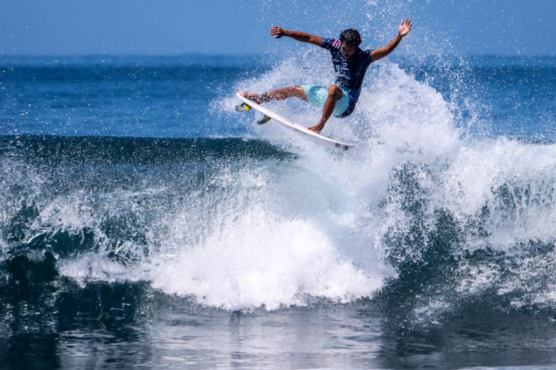 World Surf League (WSL) Champions Tour 2019 digelar di Pantai Keramas, Kabupaten Gianyar, Bali pada 13-25 Mei 2019. Foto: Kemenpar