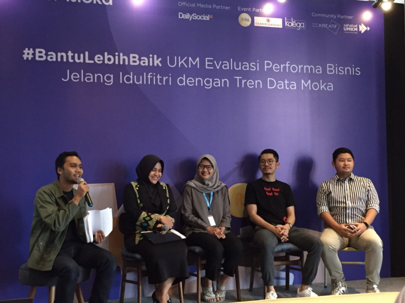 Acara A Cup of Moka di Kolega x Markplus Coworking Space, Kuningan, Jakarta, Selasa (21/5/2019). Foto: MNEWS.