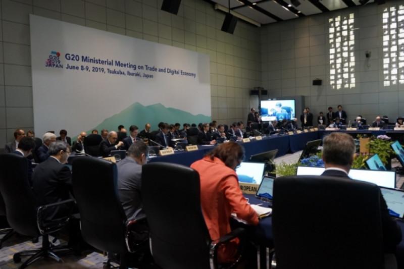 Konferensi Tingkat Tinggi G20 di Tsukuba, Ibaraki, Jepang, (8-9/6/2019). Foto: Kemendag.