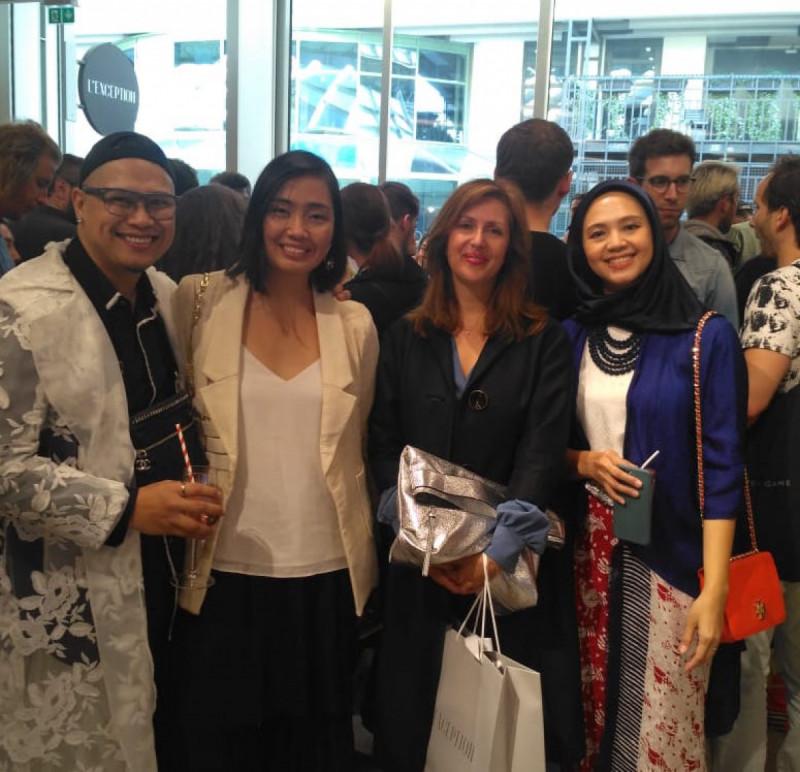 3 Brand Fashion Indonesia Mendapat Sambutan Positif di Paris. Foto: KBRI Paris