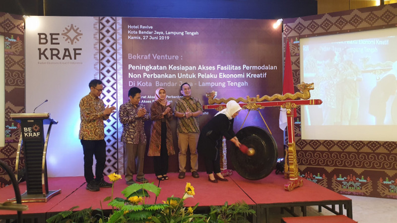 Bekraf Siapkan Pelaku Ekraf Lampung Tengah Akses Permodalan Non Perbankan. (Foto: Bekraf/Betha)