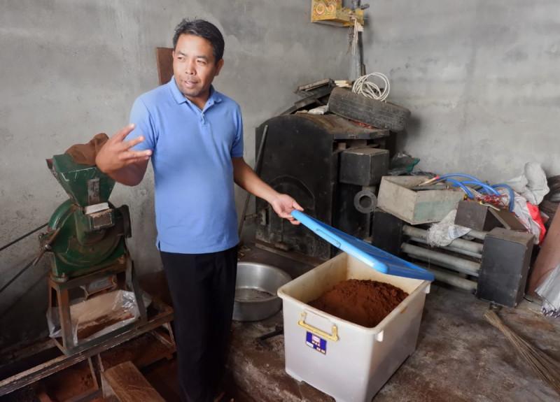 Ketua Koperasi Sumber Mertha Buana, I Wayan Terima. Foto: Kemenkop.