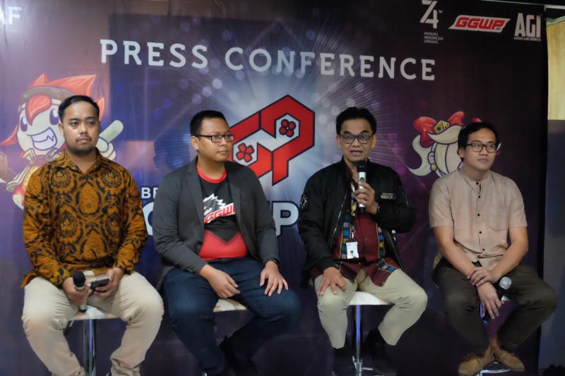 Konferensi Pers Bekraf Game Prime 2019 di Gedung BUMN lantai 15 pada Jumat (5/7/2019). (Foto: Bekraf)