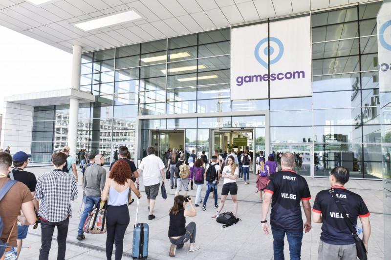 Gamescom 2018 di Cologne, Jerman. (Foto: polygon.com)