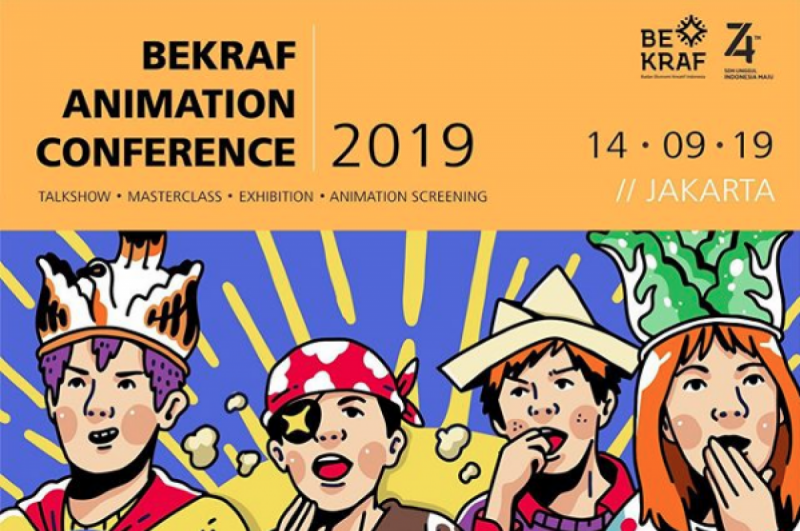 Bekraf Dukung Perkembangan Sektor Animasi Melalui BEACON 2019. (Foto: BEKRAF)