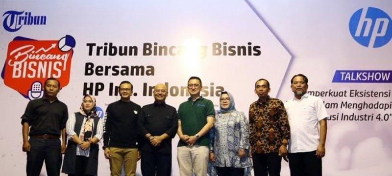 Tribun Bincang Bisnis bersama HP Inc. Indonesia diselenggarakan di Medan, Sabtu (7/9/2019) (Foto : Danil Siregar)