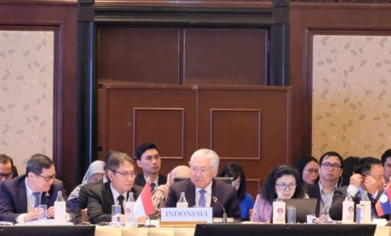 Pertemuan Menteri Ekonomi ASEAN (ASEAN Economic Ministers' Meeting/AEM) ke-51 di Bangkok, Thailand, Sabtu (7/8) (Foto: Dok Kemendag )