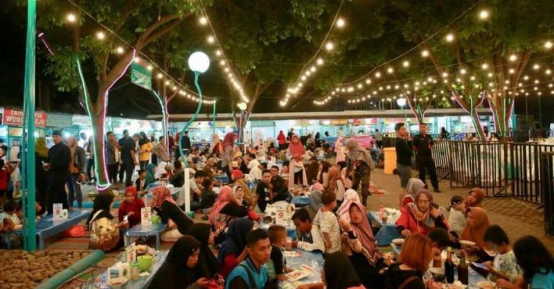 Suasana Kuliner Pintar di Banyuwangi Senin (9/9/19) (Foto: Ardian Fanani)