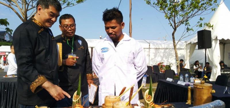 APJI menggelar Festival Jajan Pasar dan Pameran Industri Jasa Boga bertaraf internasional di Bali pada tanggal 13-15 September 2019 (Foto : Dok. NusaBali.com)