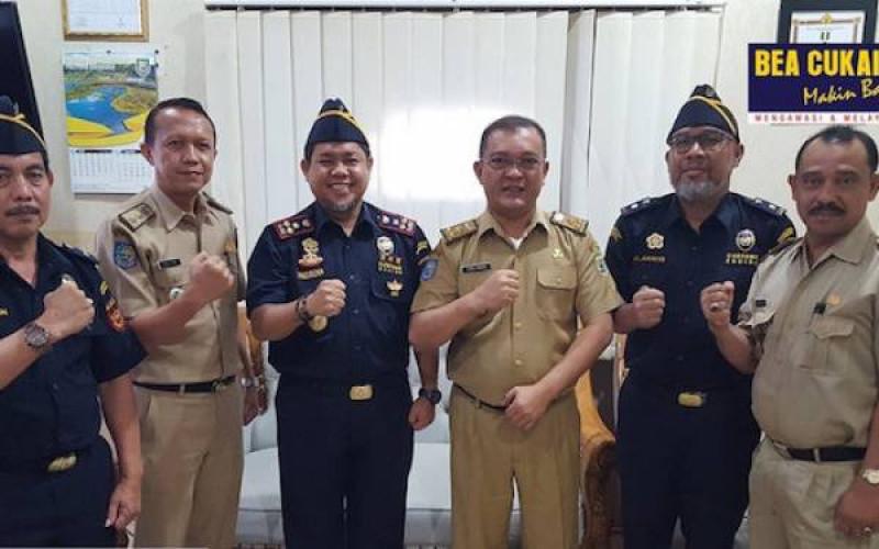 Bea Cukai Bengkulu mengunjungi Dinas Koperasi dan UKM Provinsi Bengkulu, pada Selasa (10/9/19) (Foto : Dok. Bea Cukai)
