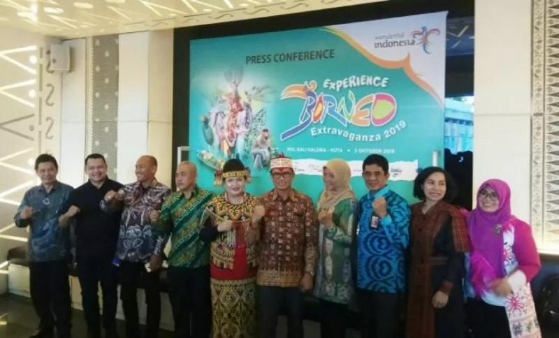 """Borneo Extravaganza 2019"" promosi program Wonderful Indonesia. (Foto : Komang Suparta)"