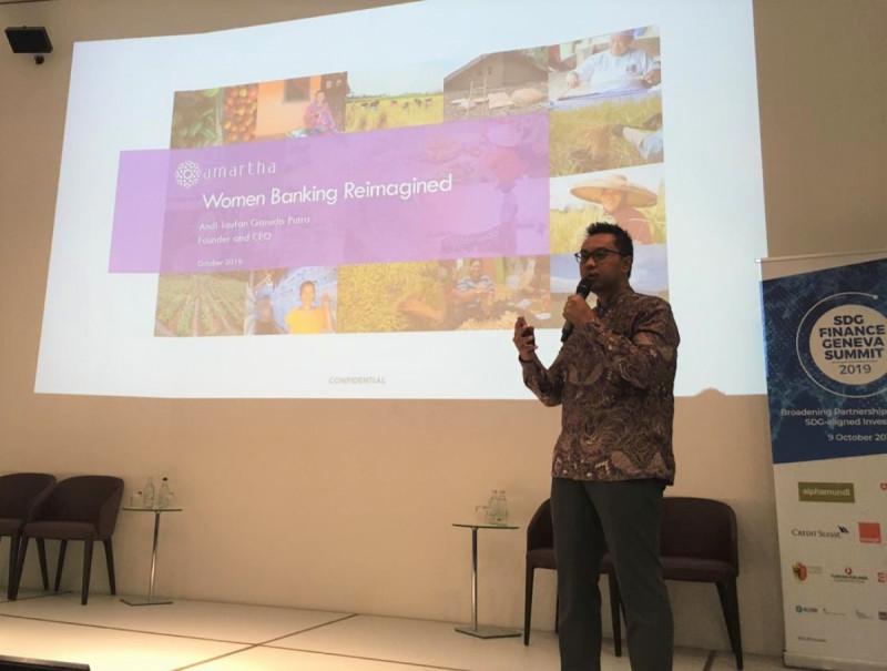 Andi Taufan Garuda Putra - CEO dan Founder Amartha Fintek. (Foto: Amartha)