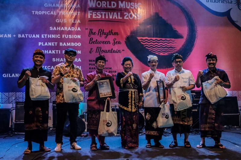 Karangasem World Music Festival 2019 yang berlangsung pada 11-13 Oktober 2019 di Puri Gede, Karangasem Bali. (Foto: Dok Kementerian Pariwisata)