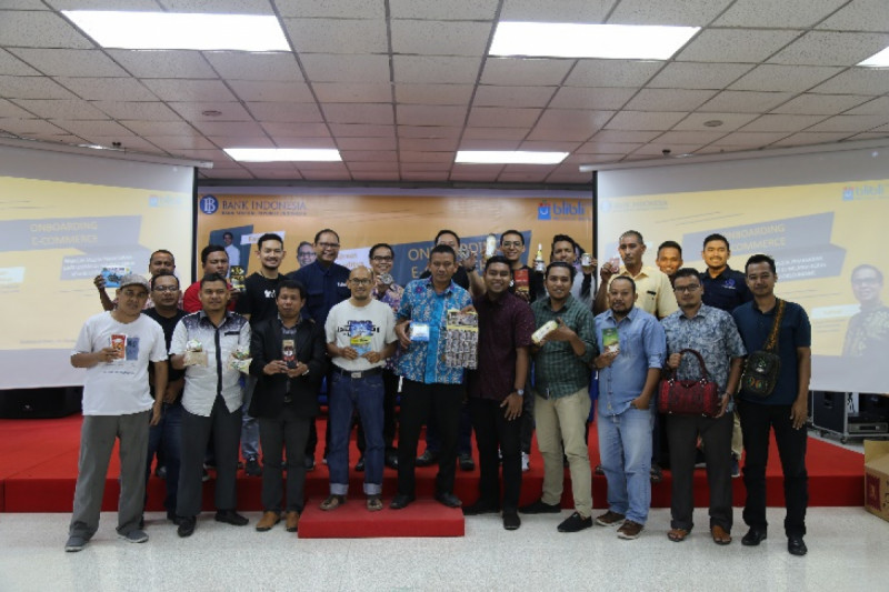Kerja sama KPw BI Lhokseumawe dengan Blibli.com melalui onboarding produk lokal Aceh ke dalam ekosistem digital. (Foto: KPw BI Lhokseumawe )
