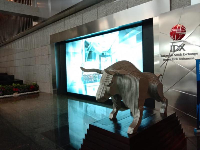 Kantor Bursa Efek Indonesia. (Foto: Angga Bratadharma)