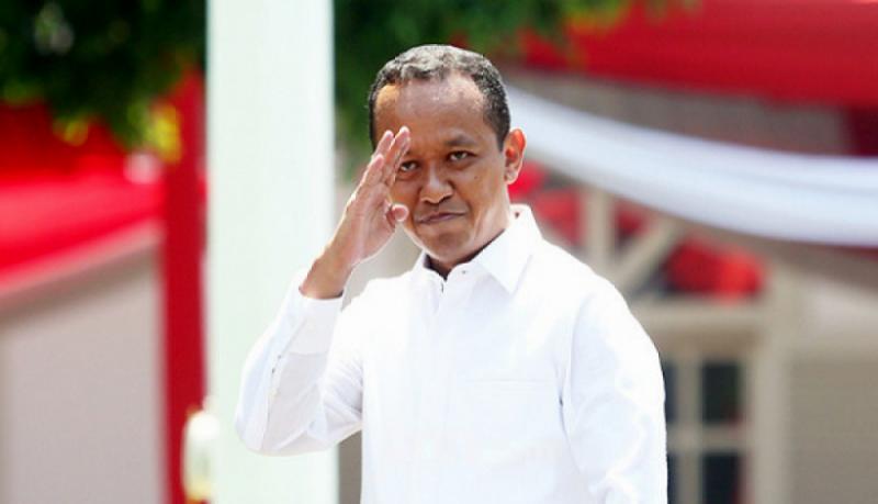 Bahlil Lahadalia saat berada di Istana Negara. (Foto: JPNN)