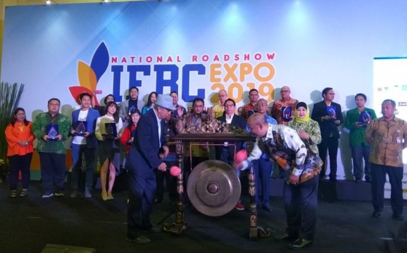 Pembukaan IFBC Expo 2019 di Kartini Expo, Balai Kartini, Jakarta, Jumat (22/11/2019). (Foto: MNEWS.co.id)
