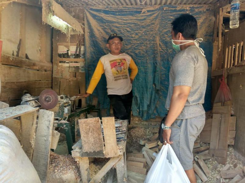 Situasi di Kampung UMKM. Foto: Affan.