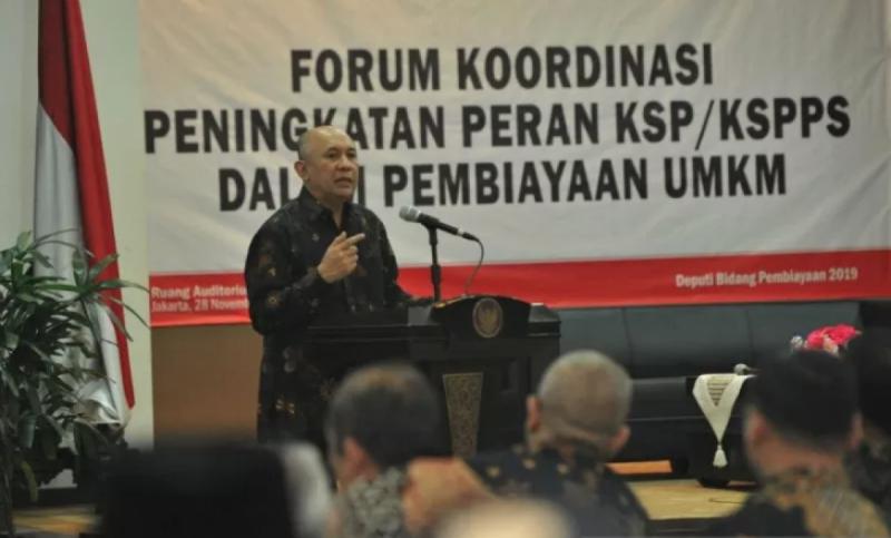 Menkop UKM Siapkan Strategi Perluasan Pasar UKM Sektor Riil Unggulan. (Foto: Humas Kemenkop)