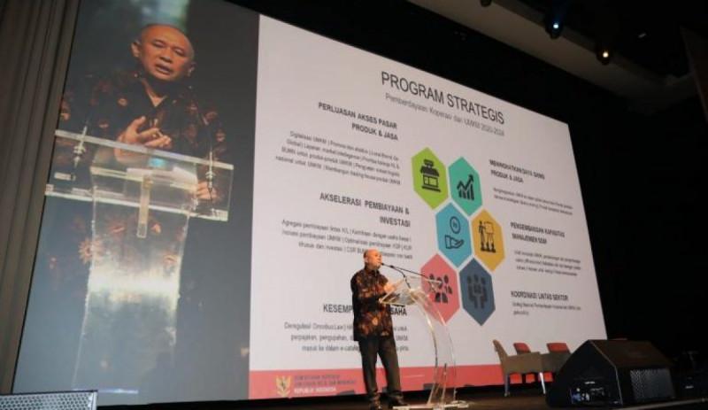 Pemerintah Siapkan Market Intelligence dan Aplikasi untuk UMKM. (Foto: Humas Kemenkop)