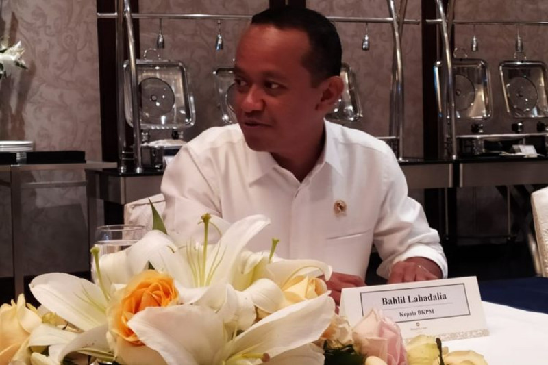 Bahlil Lahadalia, Kepala Badan Koordinasi Penanaman Modal (BKPM). (Foto: Erlangga Djumena)