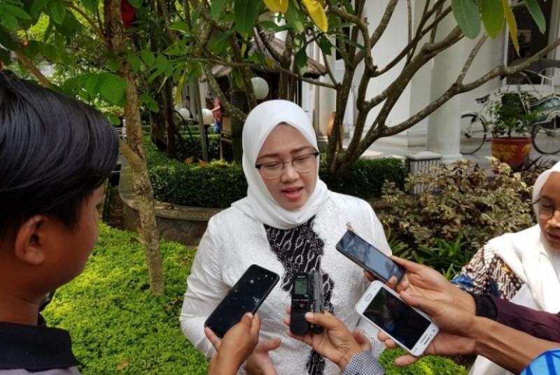 Bupati Purwakarta Anne Ratna Mustika. (Foto: Dede Nurhasanudin )