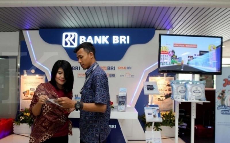 Ilustrasi Booth Bank Republik Indonesia (BRI). (Foto: KONTAN)