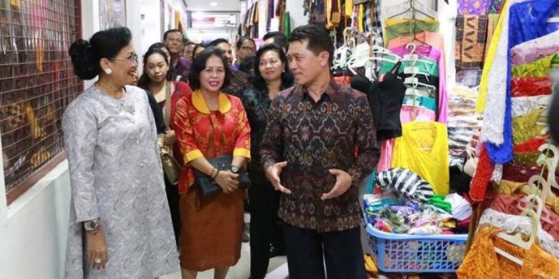 Suasana Pasar Seni Klungkung. (Foto: Merdeka.com)