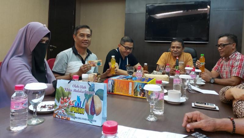 Pertemuan pelaku UMKM, pengelola Hotel Grand Dafam, dan Om Pala Milenesia (Foto: Times Indonesia)