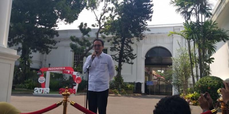 Jerry Sambuaga saat ditunjuk sebagai Wakil Menteri Perdagangan (Wamendag). (Foto: Intan Umbari Prihatin)