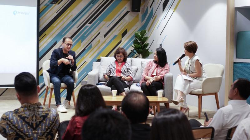 """Amartha dan Principal gelar kegiatan diskusi publik dan media membahas tentang """"Impact Investment:Dorong Percepatan Capaian SDGs di Senayan, Jakarta, Rabu(12/02/20). (Foto: Amartha)"""