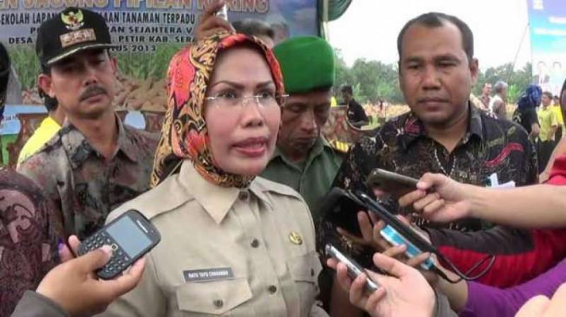 Ratu Tatu Chasanah, Bupati Kota Serang. (Foto: Suara.com)