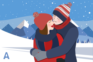 Winter Falling in Love