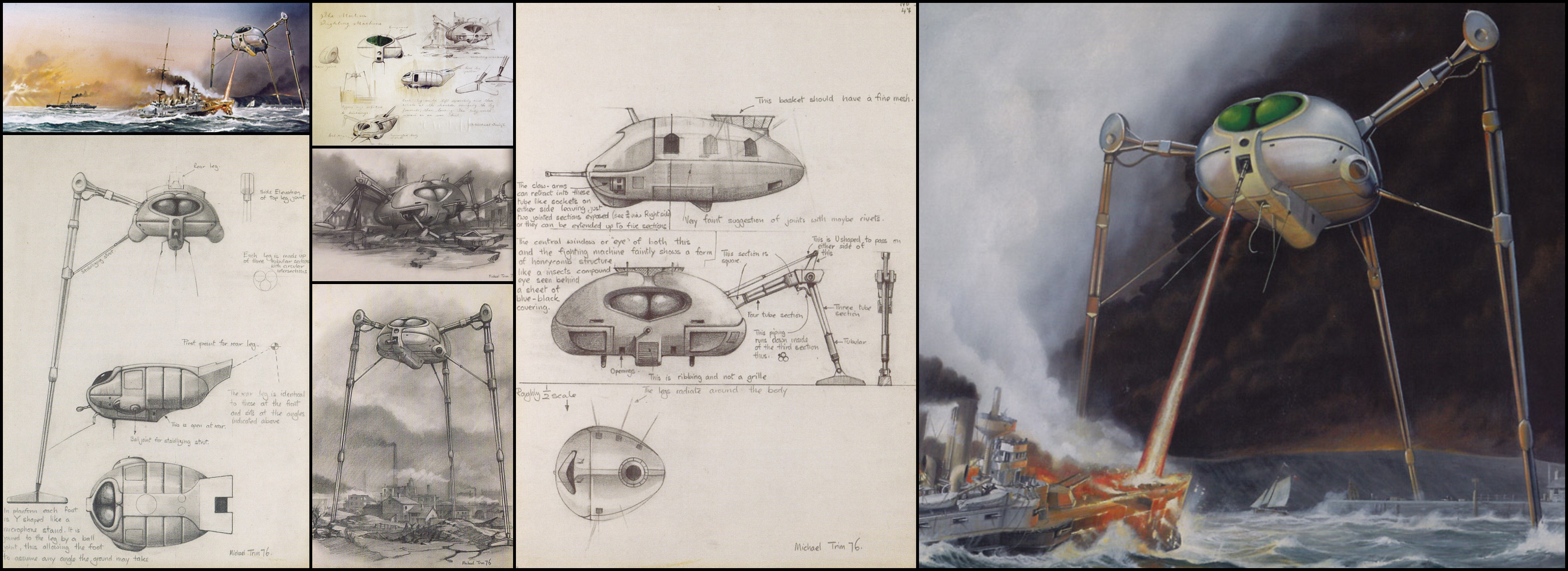Michael Trim's 1976 War Of The Worlds Sketches.jpg