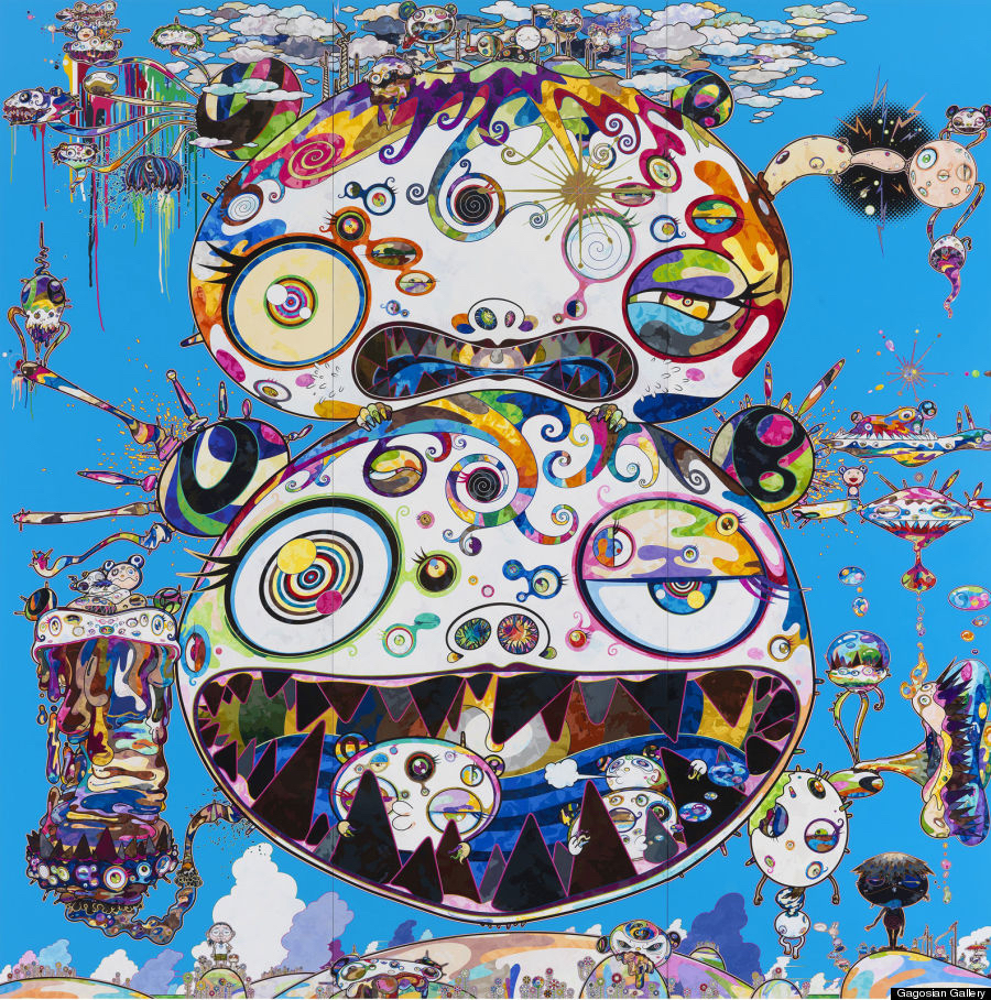 Takashi Murakami - Tan Tan Bo - In Communication, 2014.jpg