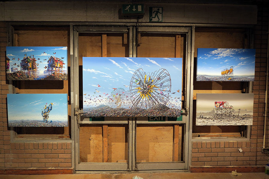 Jeff Gillette - Artwork on display at Dismaland.jpg