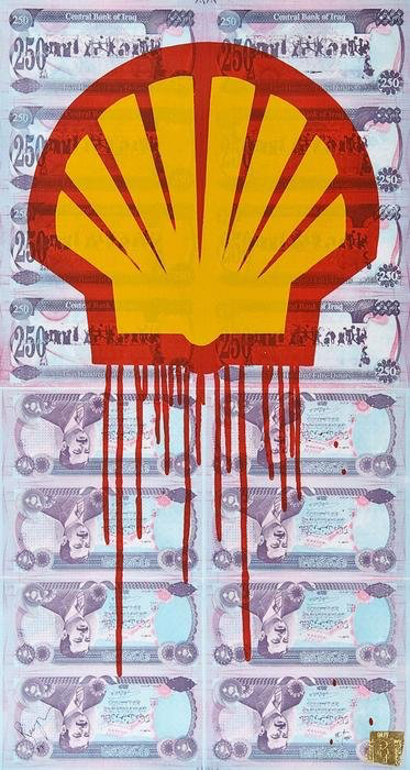 Shell Blood For Oil