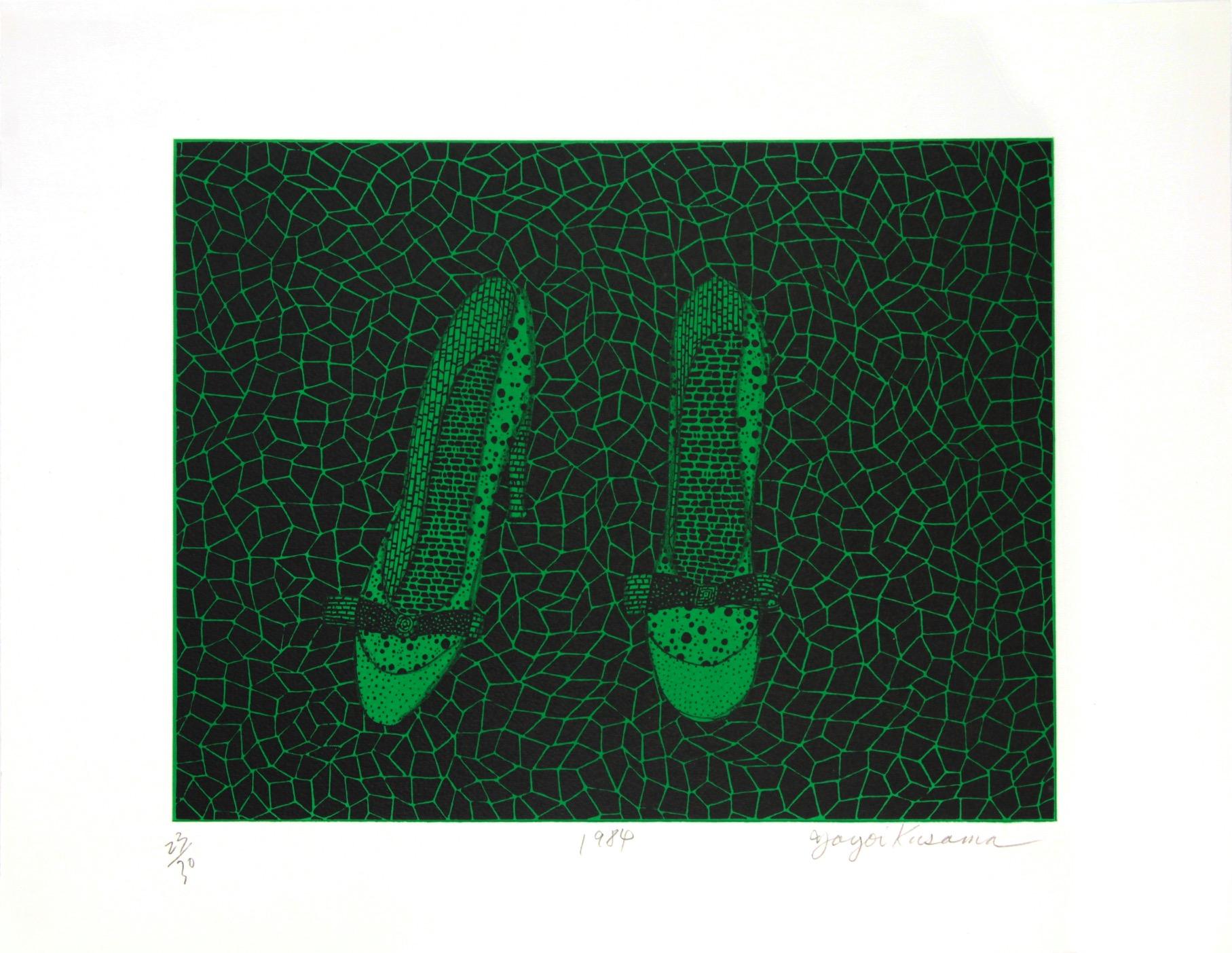 Yayoi_Kusama-Shoes_[Green]-P-YK-005