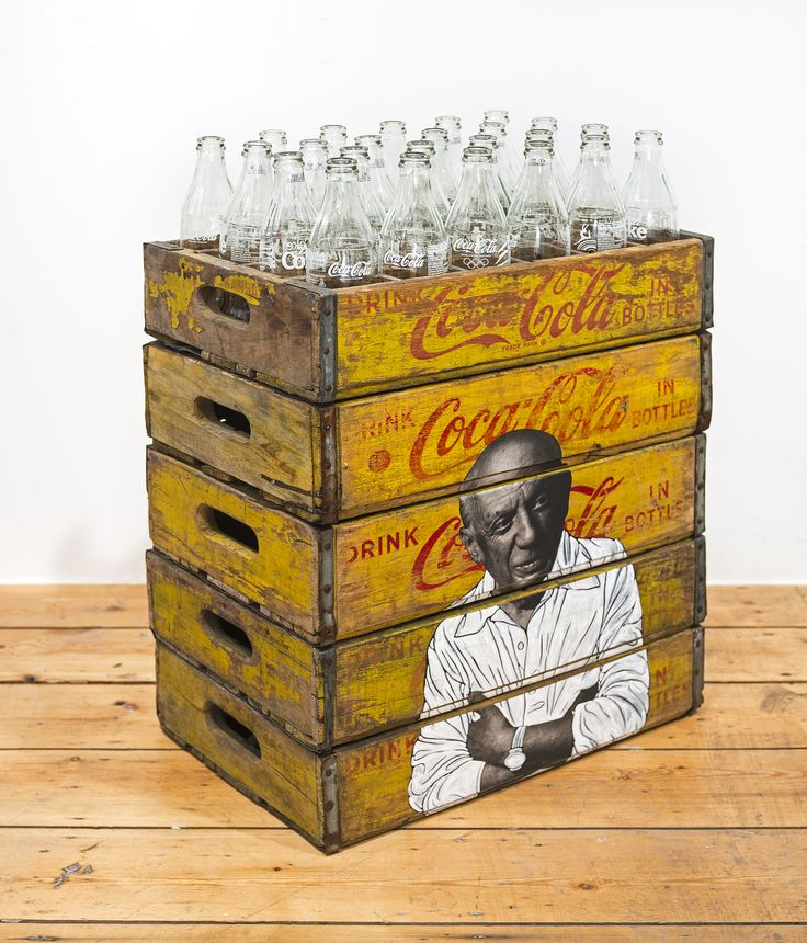 Picasso on Coca Cola Crate by Pakpoom Silaphan.jpg
