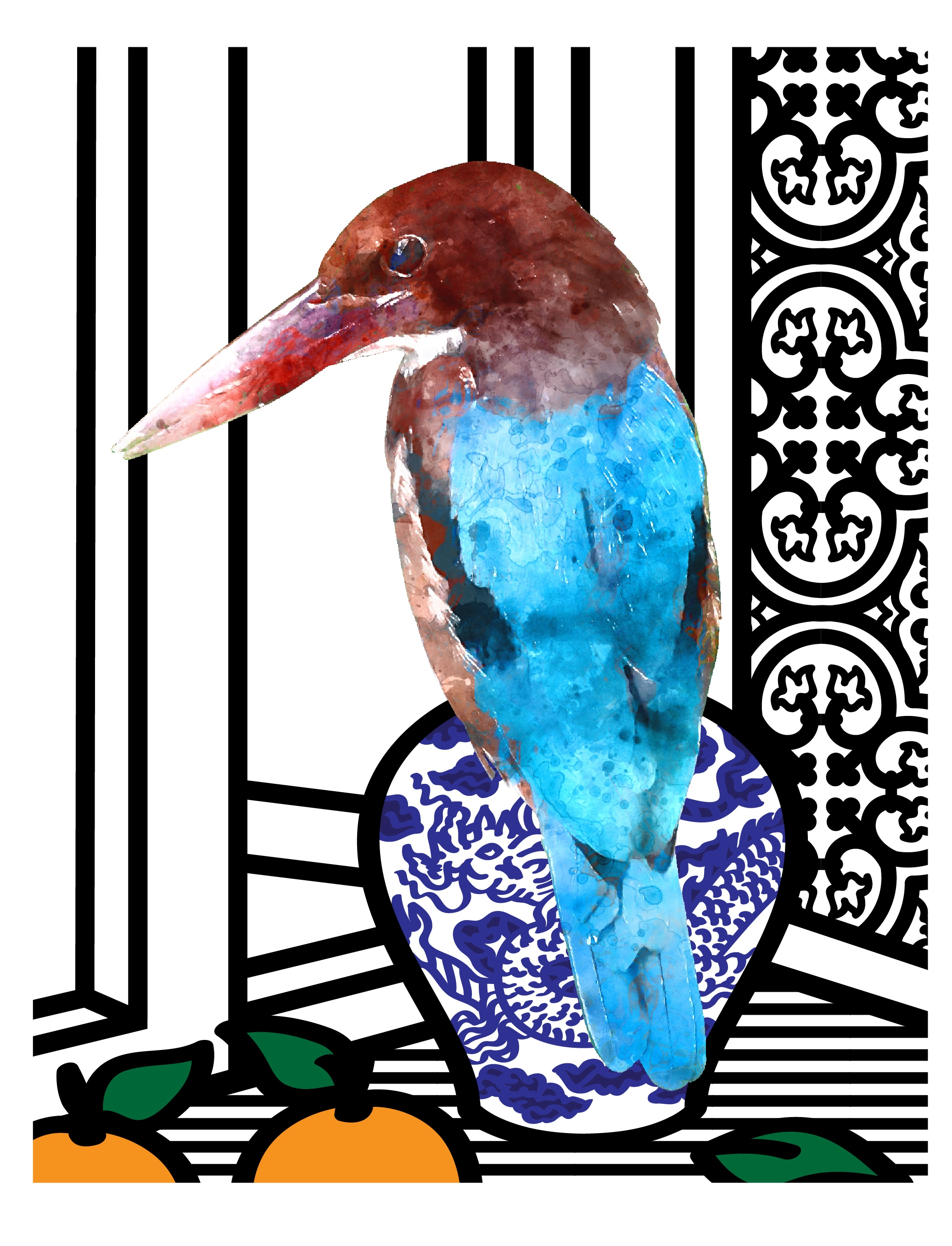 Rasha Eleyan - Kingfisher By The Window.jpg